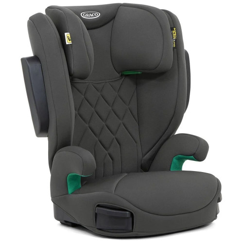 Graco Eversure i-Size High Back Booster Seat - Iron