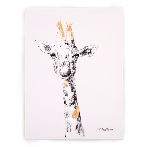 Childhome Giraffe Head Oil Painting (30 x 40 cm)