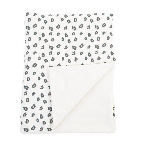 Childhome Blanket 80 x 100 - Jersey Leopard