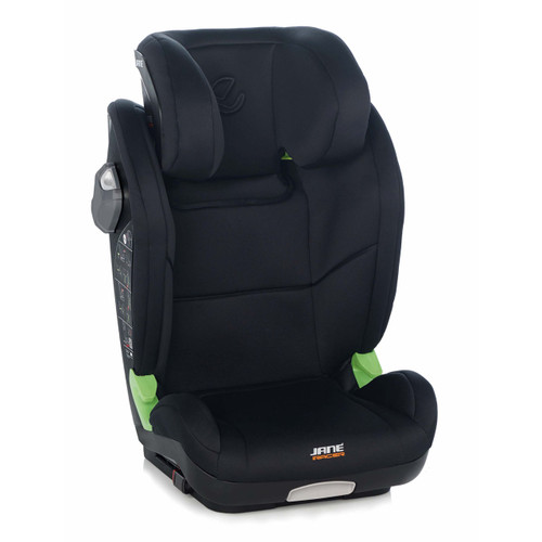 Jane iRacer iSize Car Seat - Cold Black