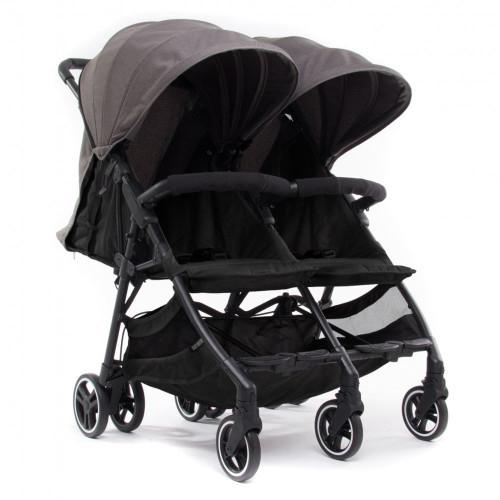 Baby Monsters Kuki Twin Stroller - Texas/Black
