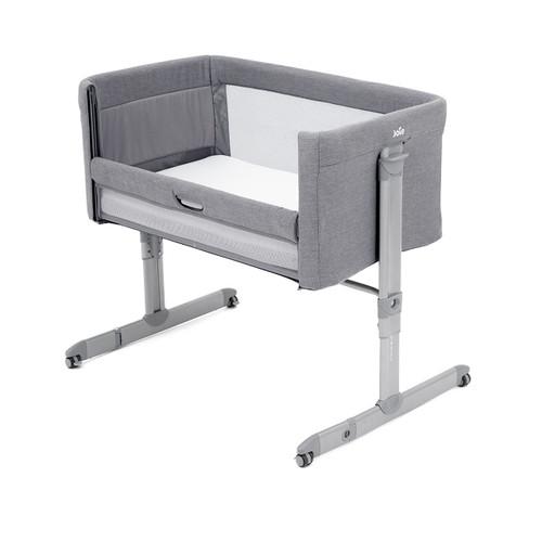 Joie Roomie Side-Sleeping Crib - Grey Flannel
