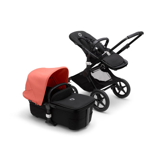 Bugaboo Fox 3 Complete Black/Midnight Black - Choose Your Canopy