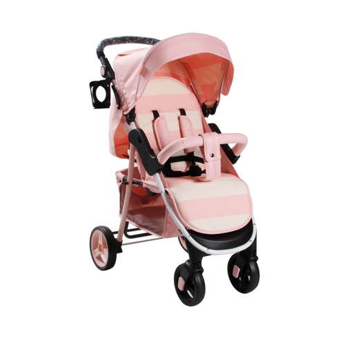 My Babiie MB30 Pushchair by Billie Faiers - Pink Stripes