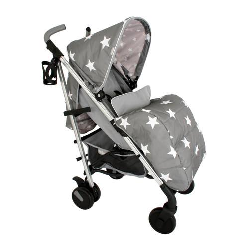 My Babiie MB51 Stroller - Billie Faiers/Grey Stars
