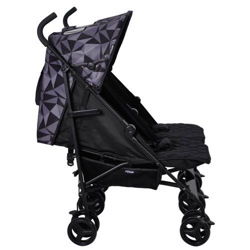 My Babiie MB11 Twin Stroller - Dani Dyer/Black Geometric