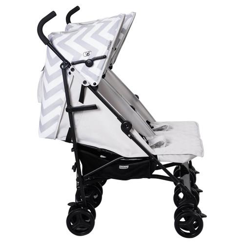 My Babiie MB11 Twin Stroller - Billie Faiers/Grey Chevron