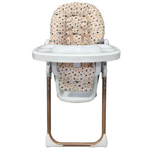 My Babiie Premium Highchair - Dani Dyer/Blush Leopard