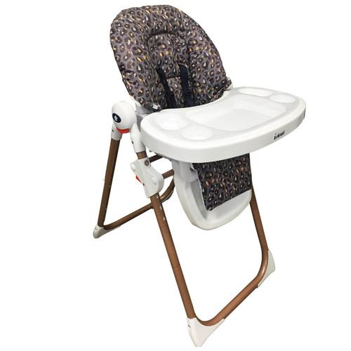 My Babiie Premium Highchair - Dani Dyer/Navy Leopard