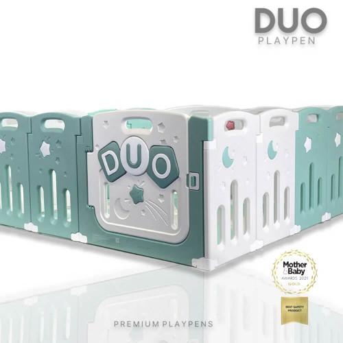 Venture All Stars Duo Playpen - Blue