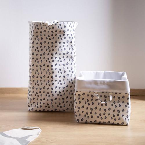 Childhome Canvas Box 32x32x60cm - Leopard
