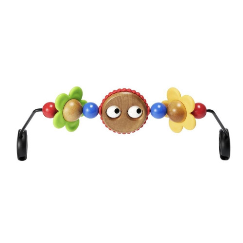 BabyBjorn Wooden Toy for Babysitter Balance Bouncer - Googly Eyes