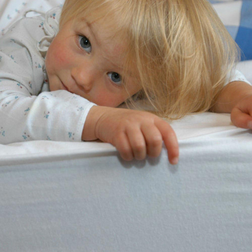 Hippychick Fitted Mattress Protector - Cot Bed