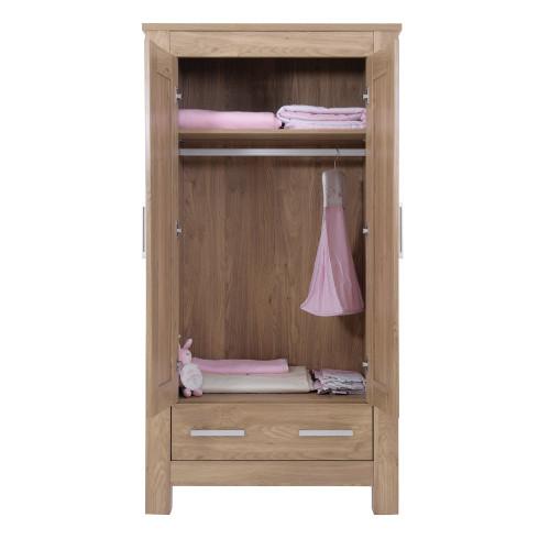 Babystyle Bordeaux Furniture - Wardrobe - Open