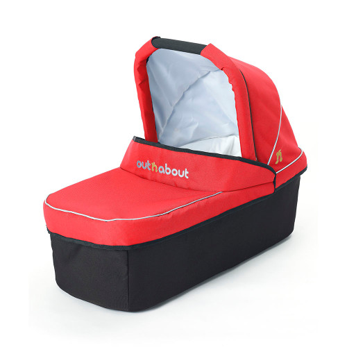 Out 'n' About Nipper V3 Carrycot - Carnival Red