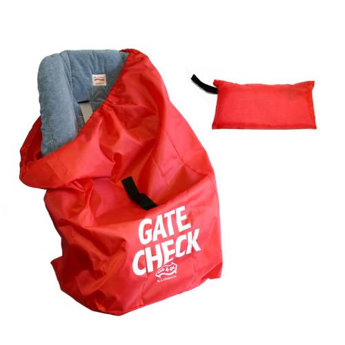 JL Childress Gate Check Car Seat Bag - Red