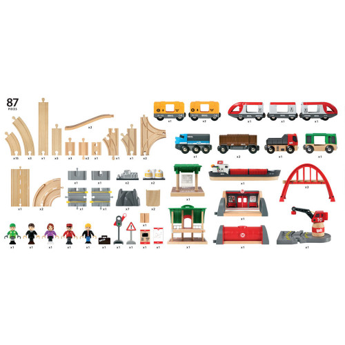 Brio Deluxe Railway Set - includes
