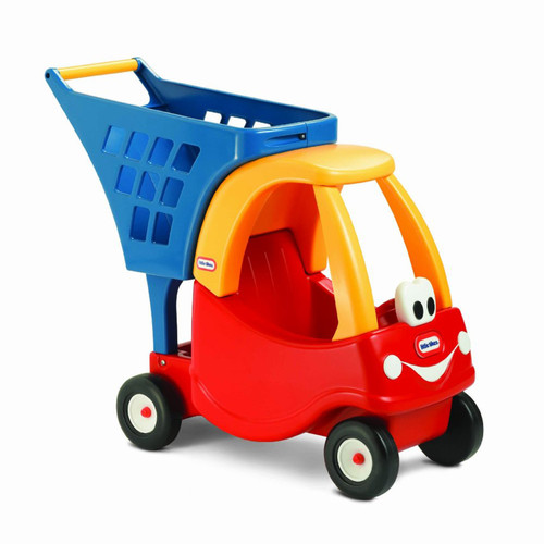 Little Tikes Cozy Shopping Cart - Red