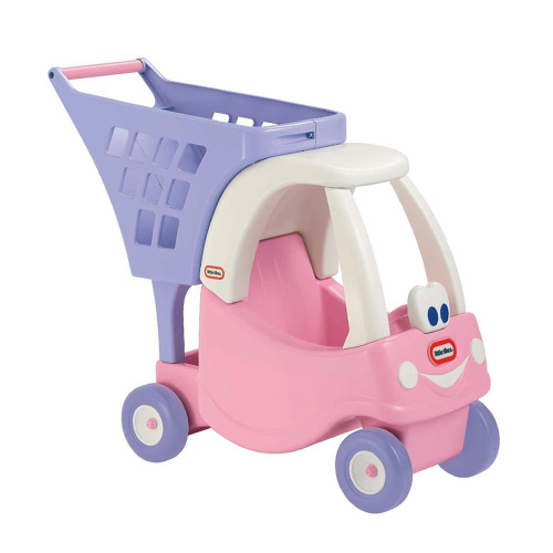 Little Tikes Cozy Shopping Cart - Pink