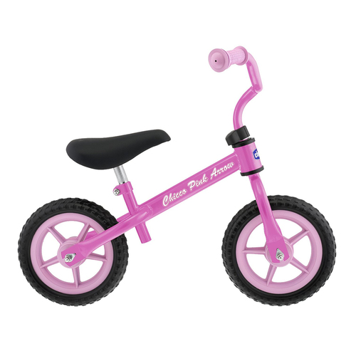 Chicco Pink Arrow Balance Bike (Side)
