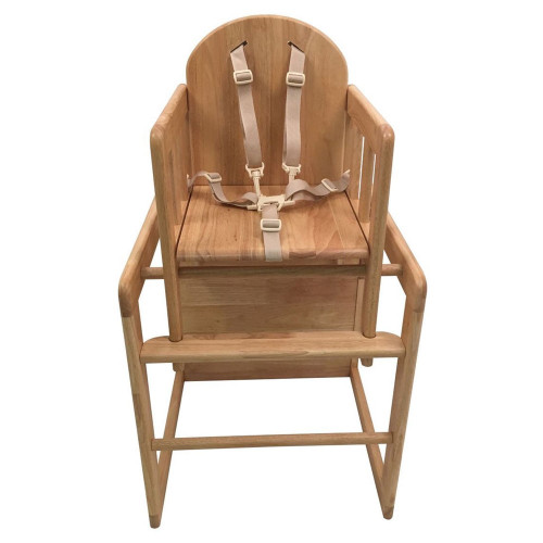 East Coast Combination Highchair - All Wood - front