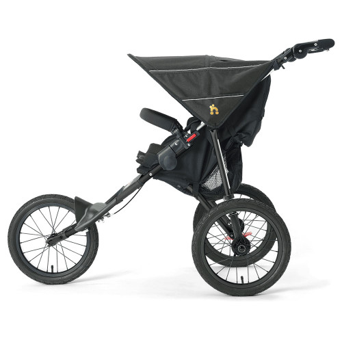 Out n About Nipper Sport Stroller V4 - Raven Black (side)