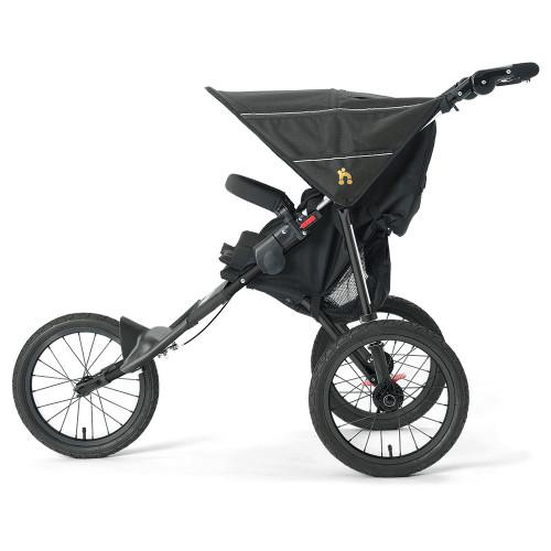 Out n About Nipper Sport Stroller V4 - Raven Black (side)