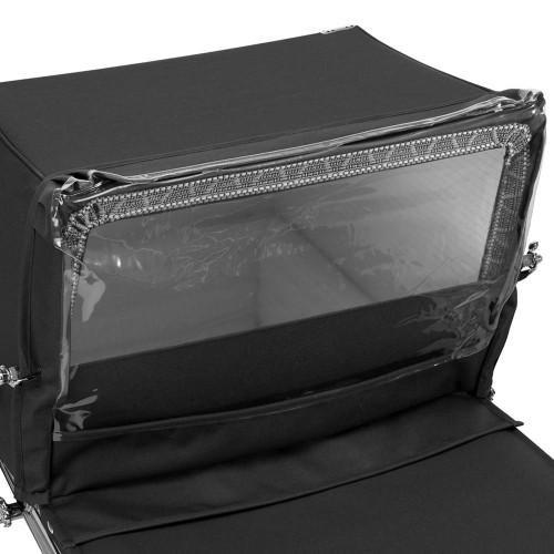 Silver Cross Kensington Rain Shield - Black
