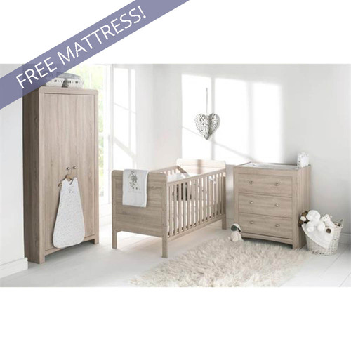 East Coast Fontana Room Set + FREE Mattress