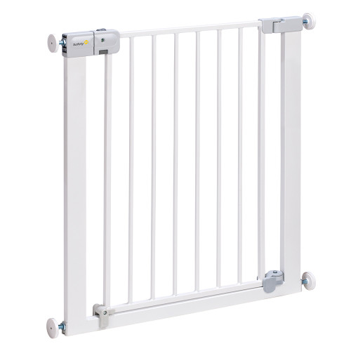 Safety 1st SecurTech® Auto Close Metal Gate - White (Angled)