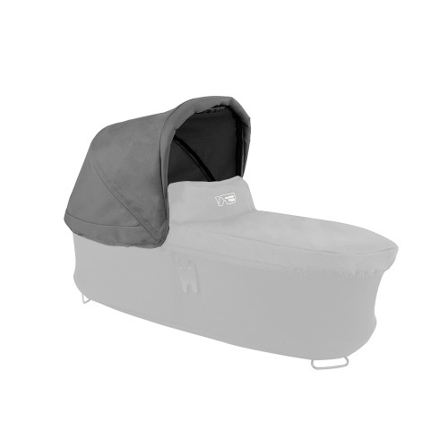 Mountain Buggy Carrycot Plus Sunhood for Duet - Flint