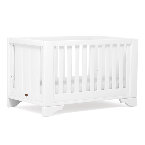 Boori Eton Expandable Cot Bed - White (Lowered)