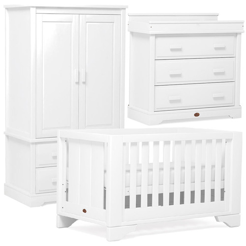 Boori Eton Expandable 3 Piece Room Set - White
