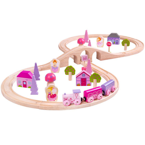 Bigjigs Fairy Figure of Eight Train Set