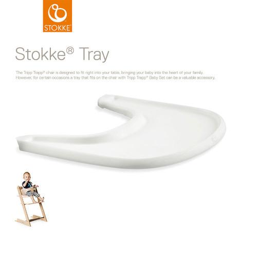 Stokke® Tripp Trapp® Tray - White (with description)