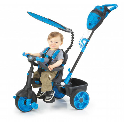 Little Tikes Trike 4-in-1 Deluxe Edition - Neon Blue (Lifestyle)