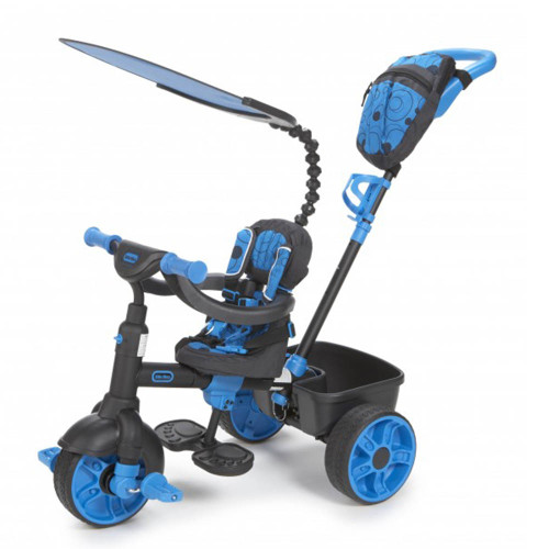 Little Tikes Trike 4-in-1 Deluxe Edition - Neon Blue (Stage 1)