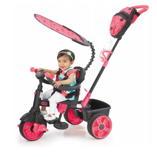 Little Tikes Trike 4-in-1 Deluxe Edition - Neon Pink (Lifestyle)