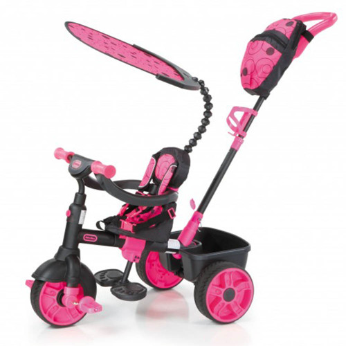 Little Tikes Trike 4-in-1 Deluxe Edition - Neon Pink (Stage 1)