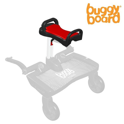 Lascal BuggyBoard Saddle - Red