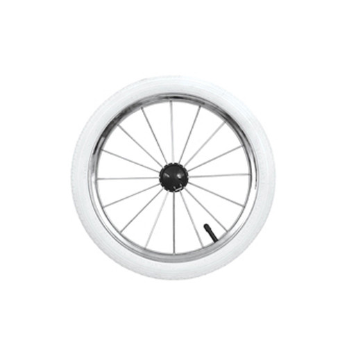 Babystyle 14 Inch Spare Air Wheel - White