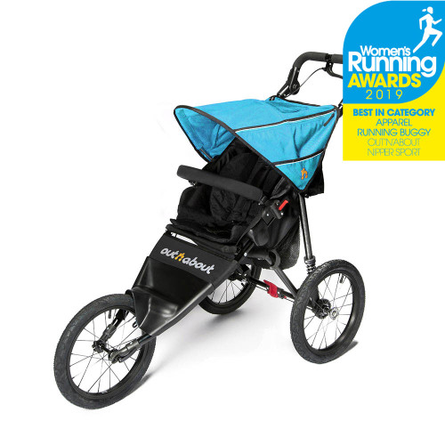 Out n About Nipper Sport Stroller V4 - Marine Blue