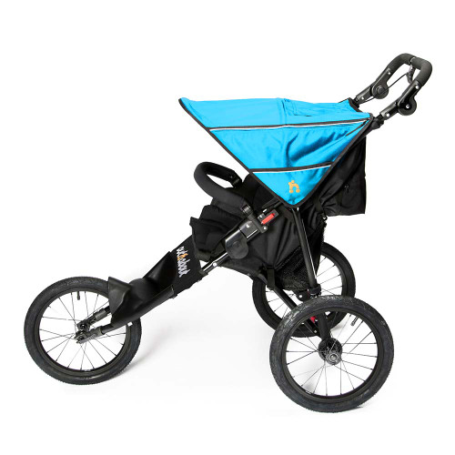 Out 'n' About Nipper Sport Stroller V4 - Marine Blue (Award - SIde)