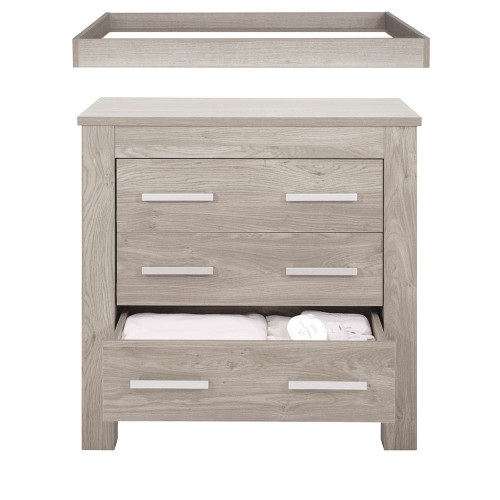 Babystyle Bordeaux Ash Dresser and Baby Changer