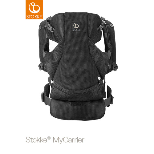 Stokke® MyCarrier™ Front & Back Carrier - Black Mesh