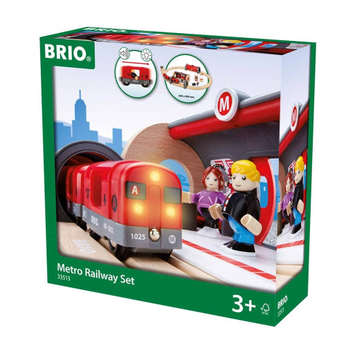 Brio Metro Railway Set - box
