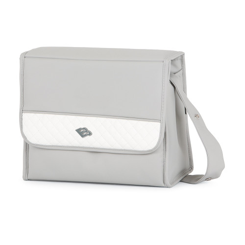 Bebecar Special Changing Bag Carre - Silver Grey (521)