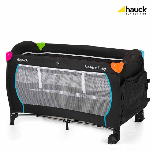Hauck Sleep n Play Centre - Multi Black (Reverse)