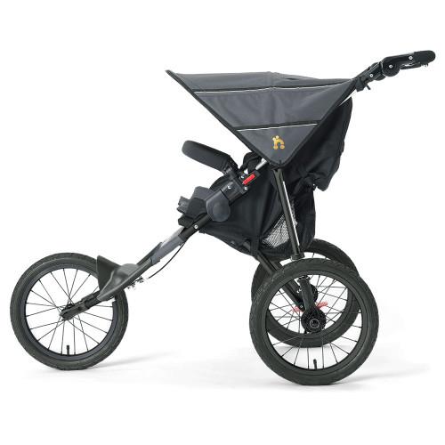 Out n About Nipper Sport Stroller V4 - Steel Grey (side)
