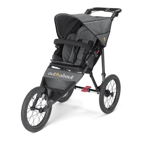 Out n About Nipper Sport Stroller V4 - Steel Grey